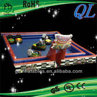 2016 (Qi Ling) outdoor fun inflatable sport game