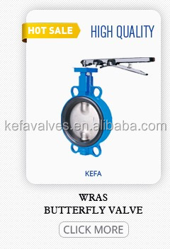 Double Flange Centreline Resilient Seated Butterfly Valves