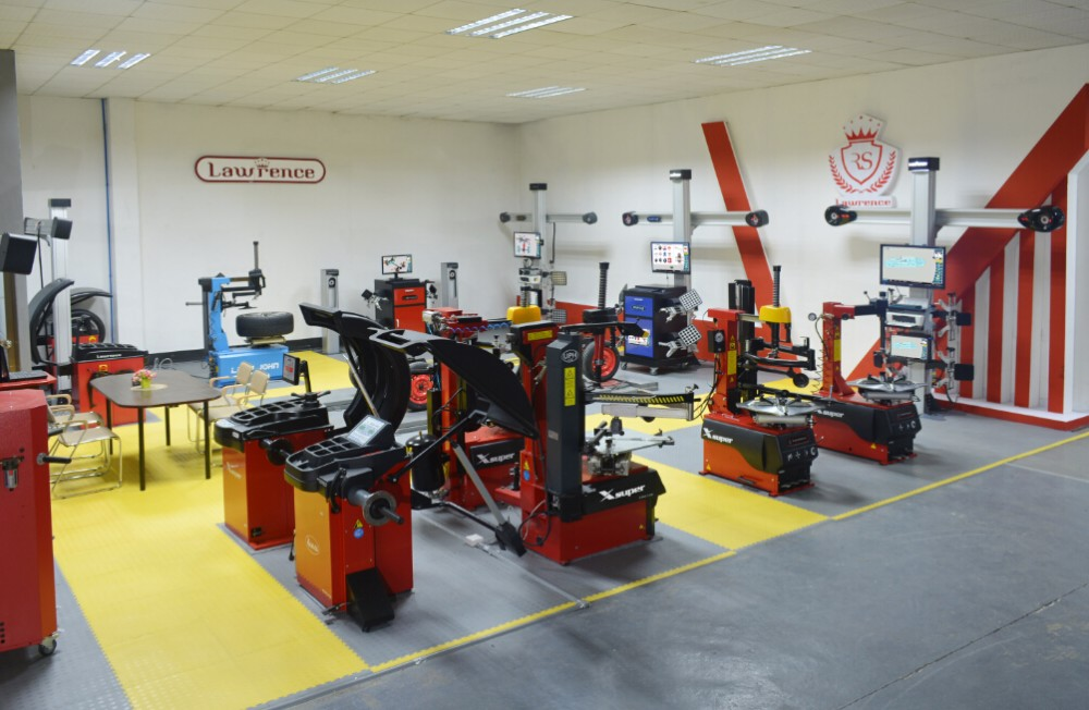 tyre changer wheel balancing and alignment machine for workshop