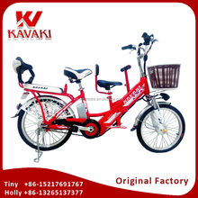 Factory Supply Family Electric Passenger Bike For Adults With Children On Sales