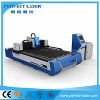 2016 hot sale 500w / 1000w stainless steel fiber laser cutting machine for sheet metal processing / kitchen ware / elevators