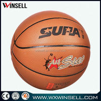 Best-selling lowest price laminated leather basketball ball