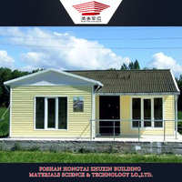 china supplier prefab villa house mobile home