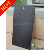 Polyester metal powder coating