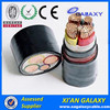 copper conductor XLPE Low voltage 3 core 4core 25mm2 35mm2 50mm2 75mm2 electrical power cable