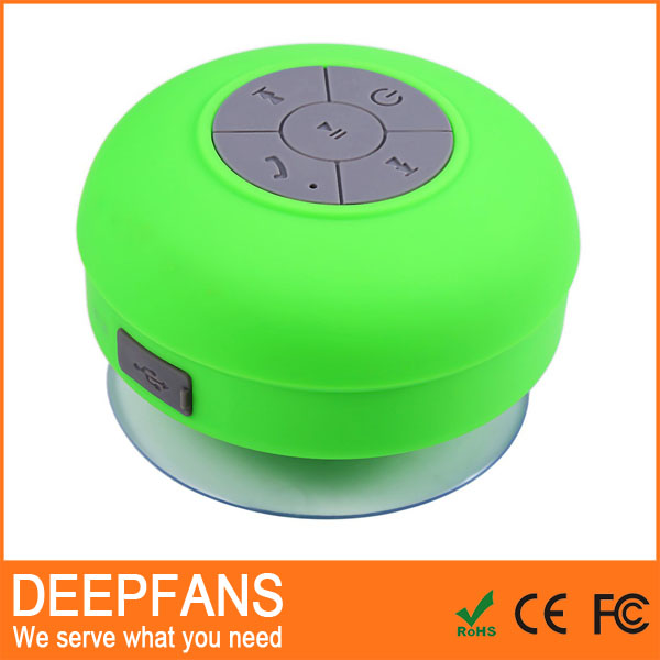 utility-type mushroom sucker v2.1 mini bluetooth shower speaker