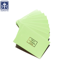 17101701 colorful printing paper silver polishing clothing packing envelope