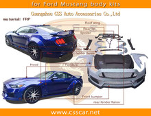 New arrival cmst style wide body kit for ford mustang 2015 in frp