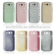 Rock Matt Hard Back Cover Case for Samsung Galaxy S3 i9300, rock grain design