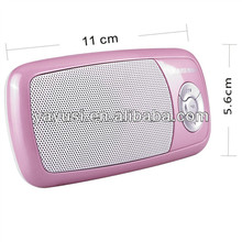 Pin lithium FM radio mp3 âm thanh mini speaker