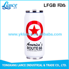 Top grade stainless steel 500ml vacuum water cans