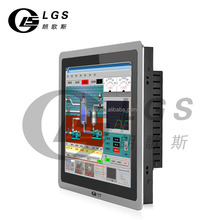 15 inch Embedded Industrial Panel All in One PC Touch for Windows 8