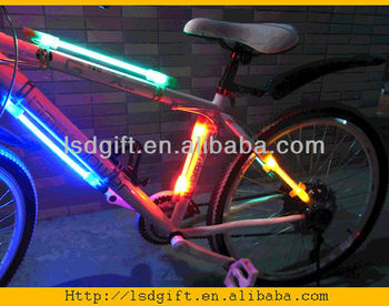 Bicycle use Glowing LED stick