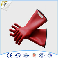 long 35kv safety live working gloves price