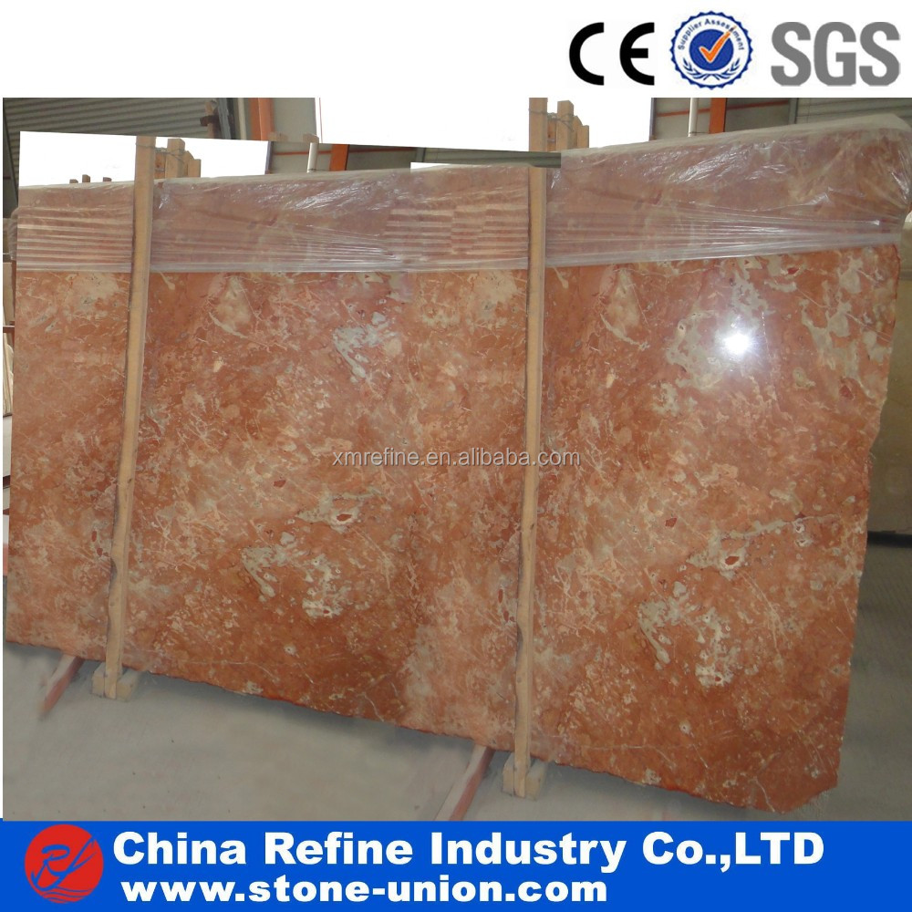 natural red marble slabs & tiles, customized