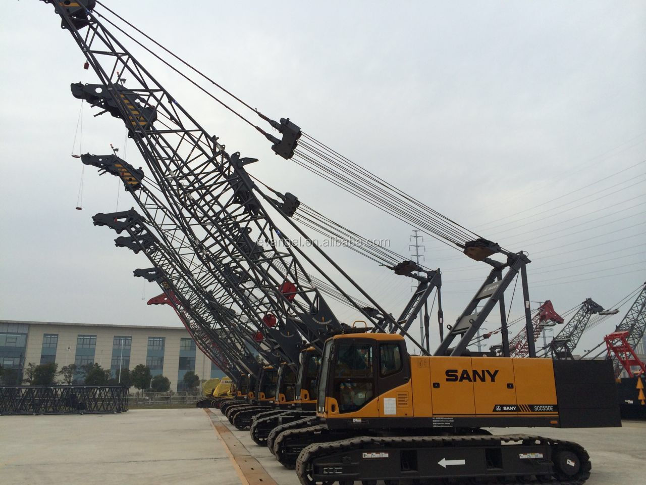 SANY 75 ton Crawler Crane SCC750A for sale