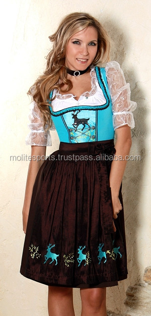 German Dirndl/Bavarian Dirndl/Oktoberfest Dirndls/Dirndl Dress/Trachten Dirndl(Traditional Garments)