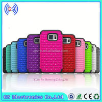 3 IN 1 Bling Diamond Crystal Hybrid silicone Gel + PC hard cell phone covers for Samsung Galaxy 9300
