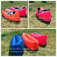 inflatable lounger air sleeping bag with fashion design /sofa for break /for outdoor