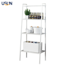 4 Layers Living Room Corner Ladder Metal Storage <strong>Shelf</strong>
