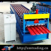 Joint-Hidden Automatic Standing Seam Galvanized color roof tile making machine