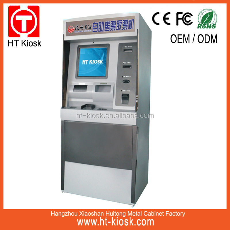 Bus Station Ticket Subway Ticket Payment Kiosk
