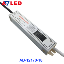DC12/24V 18W IP67 waterproof led transformers for led lighting