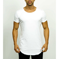 High quality promotional breathable most popular long t-shirt custom t shirt printing bodybuilding clothing manufacturer