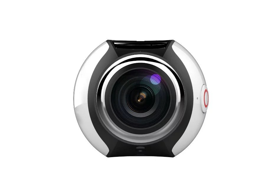 2016 Hottest 4K 30 fps Panorama Wifi Sport 360 Full View Action camera with accessories