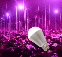 110v e26 e27 7w 9w ip65 ip67 waterproof led grow light bulb