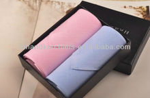 ladies' fashion small square stripe 100% cotton handkerchief