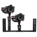 FeiyuTech A1000 DSLR Gimbal compatible with more extension ports for accessories for Niko n/ Son y/ Sigma/ GoPr o/ iPhon e