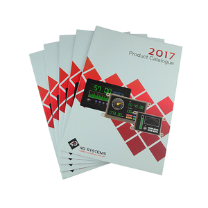 Hot sale cheap customized perfect binding brochure printing services for product catalog
