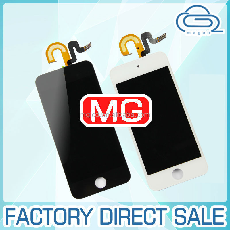 factory price for ipod Touch 5th gen lcd digitizer ,glass digitizer and lcd display for ipod Touch 5th gen generation