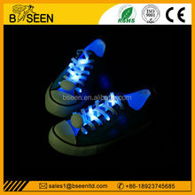 2015 newest design led custom shoelace belt for party