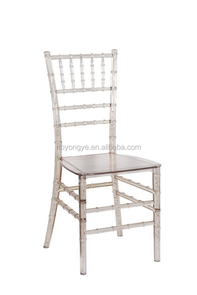stacking colorful Monobloc resin chiavari chair