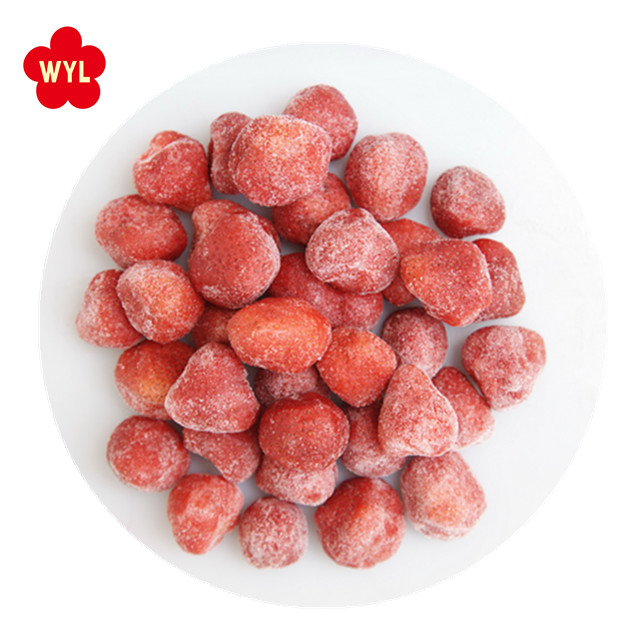 2018 new crop china good fruit IQF Frozen Strawberry