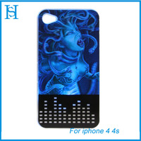 Stylish Medusa(3D )Protection Case Hard Cover For IPhone4/4s