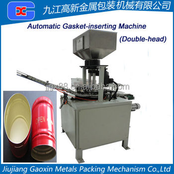 Dicephalous Automatic Gasket-Inserting Machine