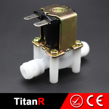 Water treatment 220V ac micro solenoid coil control electric solenoid water valve for water
