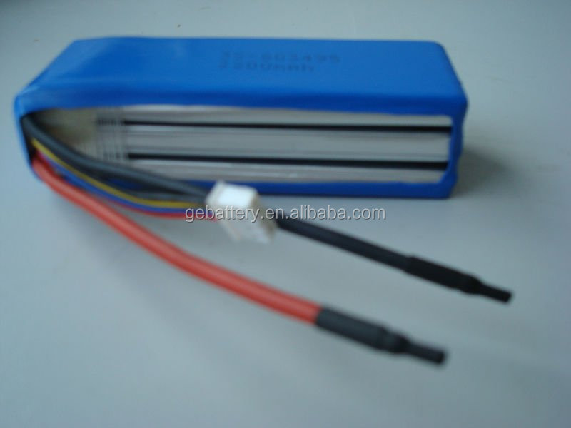 11.1v 2000mAh 40C Lipo Battery Pack for RC Models RC car/airplane/toy/boat PDA Jump Start Battery