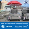 HD-12Bhot cart hot dog moving cart street hot dog vending tricycl