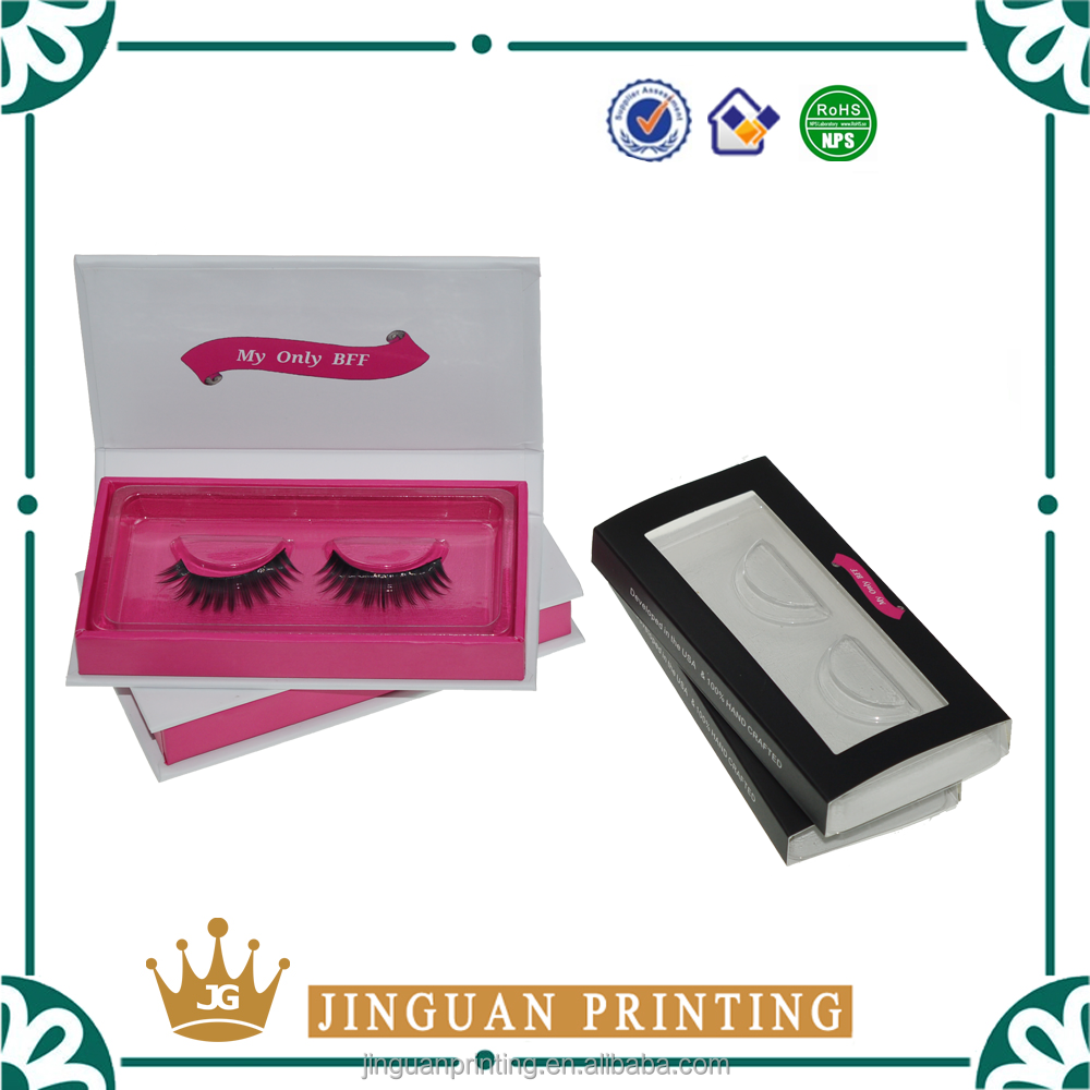 Custom Eyelash Packaging Box With Magnets