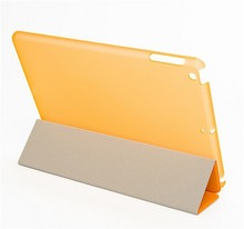 New Product Made in China leather tablet case for iPad case, for ipad smart cover and back case