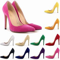 SAA4503 Large size european lady fashion dress shoes fancy pointed toe stiletto heel ladies high heel shoes