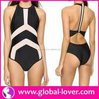 2015 high top quality open women bathing suits xxxl sex ladies bathing suits