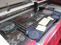 wood/ acrylics/ fabric laser cutting and engraving machine