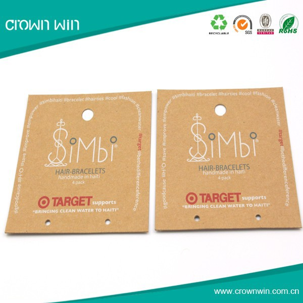 Newest sale high quality paper clothing label