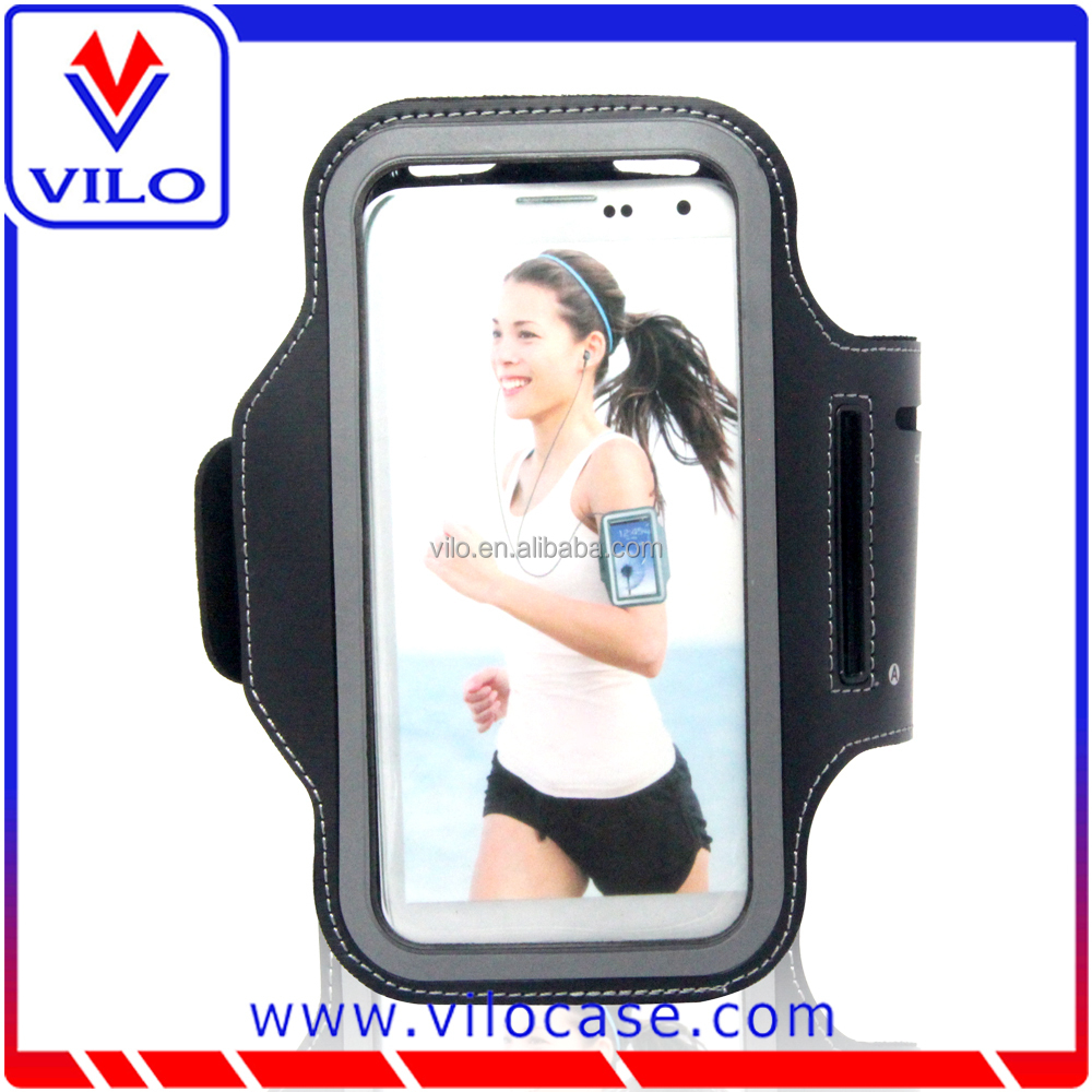High quality neoprene elastic armband /running armband/ phone armband with card holder