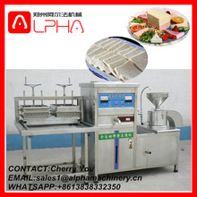 Electric gas industrial soy milk production bean curd making machine/ soybean milk processing machine
